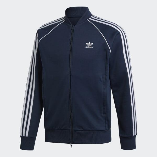 France De Veste Survêtement Adidas Sst Bleu f8zwP