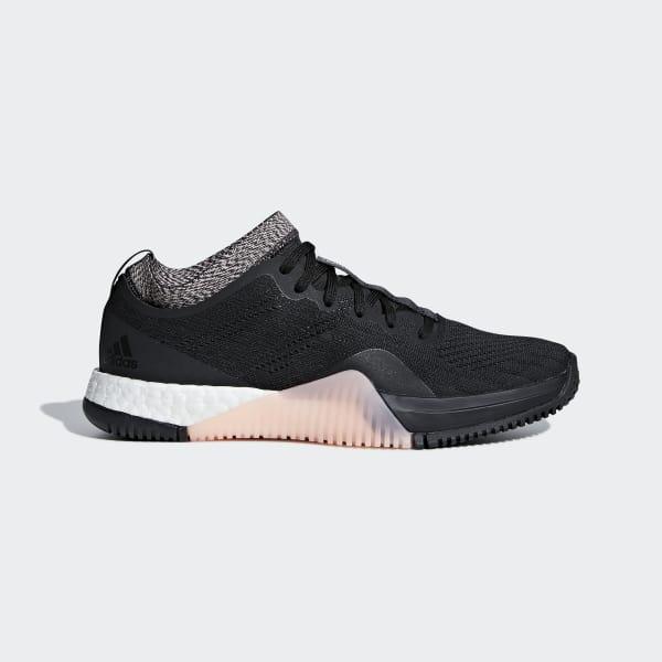 adidas PerformanceCRAZYTRAIN ELITE - Sports shoes - core black/carbon WZ876d