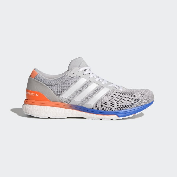 Ons Adidas Adizero schoenen Boston 6 grijs qXfRxZwFf