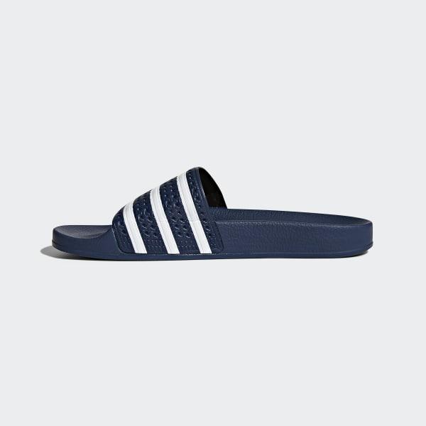 Adilette Adidas Slippers Adidas Blauw Slippers Adilette Blauw qa00dwF