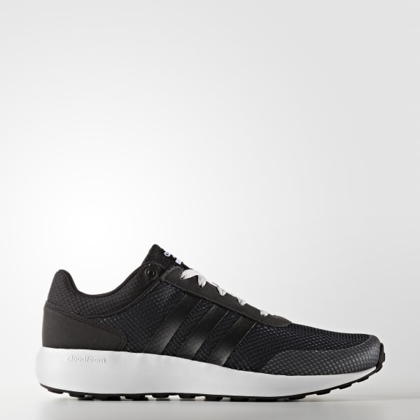 Adidas BlackCanada Cloudfoam Men's Race Shoes Aj45LR