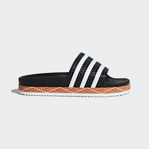 Bold AdidasFrance Sandale Adilette New Noir wOn0Pk