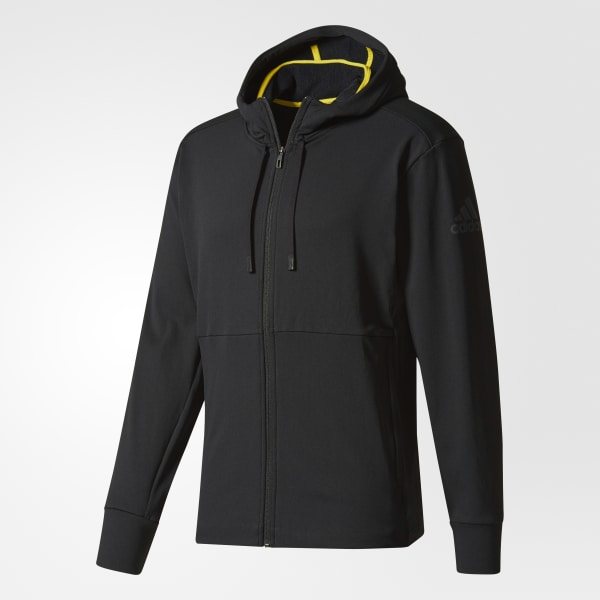 Adidas Hooded Colombia Workout Climawarm Negro Chaqueta rUWqrAF
