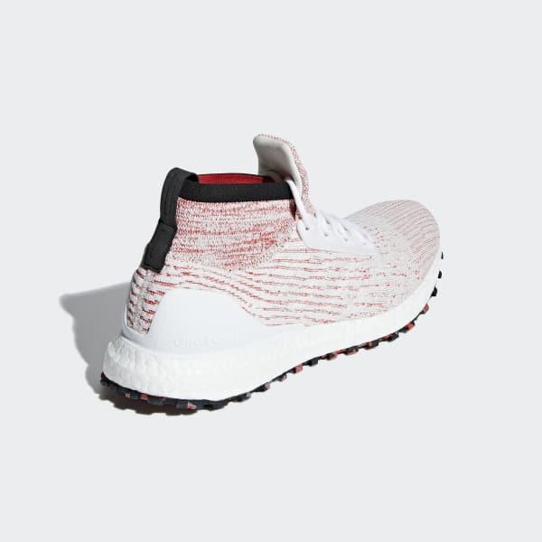 Blanc Ultraboost Chaussure Terrain All AdidasFrance 5LA43Rj