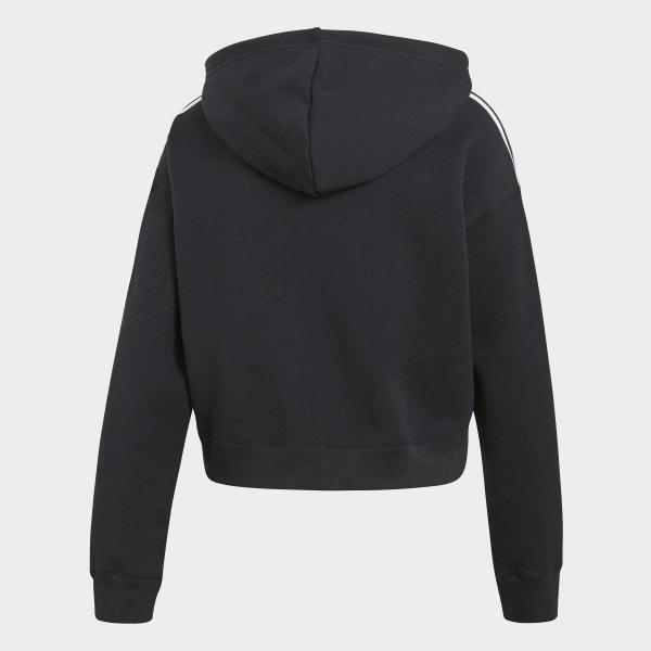 Cropped Sweat Capuche AdidasFrance Shirt Noir À OPkZiTXu