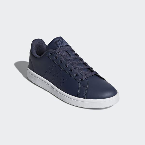 Advantage Clean Bleu Cloudfoam AdidasFrance Chaussure 92WEDHI