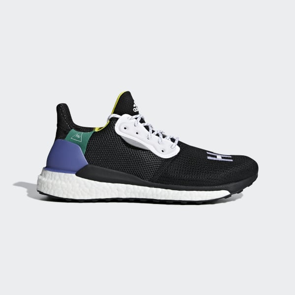 Glide Adidas Black Williams Solar X Hu Shoes Pharrell zzanXF