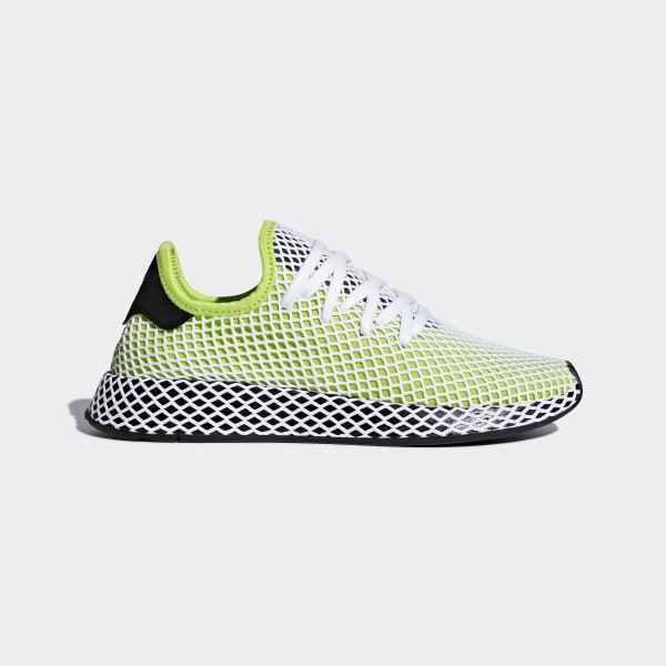 Deerupt Runner Trainers In Green B27779 - Green adidas Originals OW2cAOBs