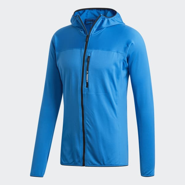 Tracerocker Terrex Chaqueta Polar Adidas Hooded AzulEspaña 2We9EDHIY