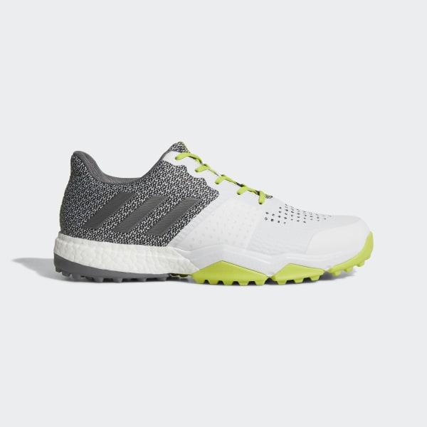 adidas Golf ADIPOWER SPORT BOOST 3 - Golf shoes - onix/core black/scarlet gUTPE