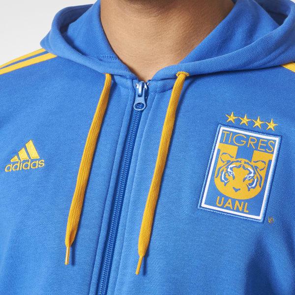 Adidas Stripes Tigres Mexico 3 Uanl Sudadera Azul qz4xpRUq