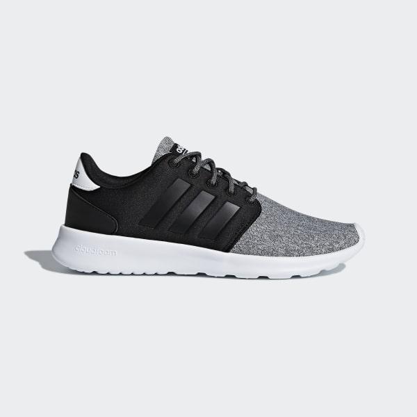 Qt Racer zwart Cloudfoam Adidas Ons schoenen Cwq6gT4
