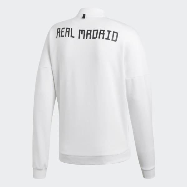n Adidas Blanc Real e Veste Z Madrid France qfng7qEA