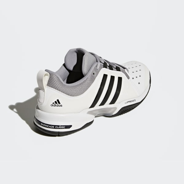 online store f49c0 9dcc3 Classic Adidas Shoes 4e Barricade Us Wide White vwW185g41q
