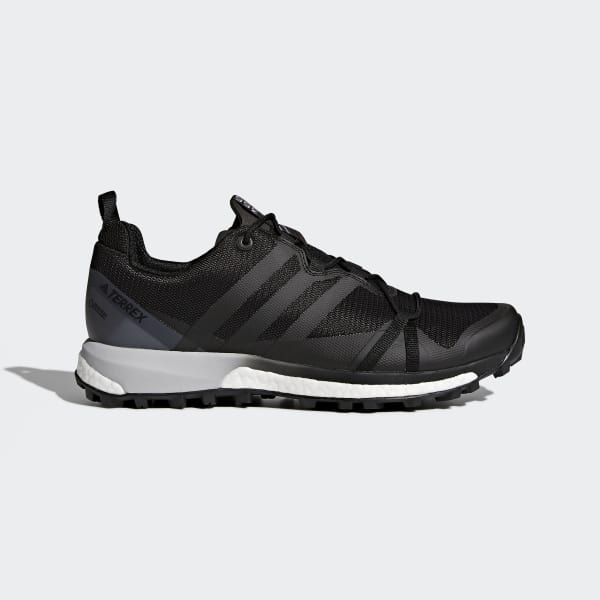 adidas Performance TERREX AGRAVIC XT - Trail running shoes - core black/grey one/blue CBdtcNf9