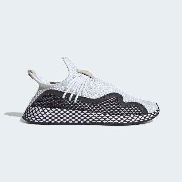 AdidasFrance AdidasFrance Blanc Chaussure Deerupt S Deerupt S Blanc Chaussure eHE2b9WDIY