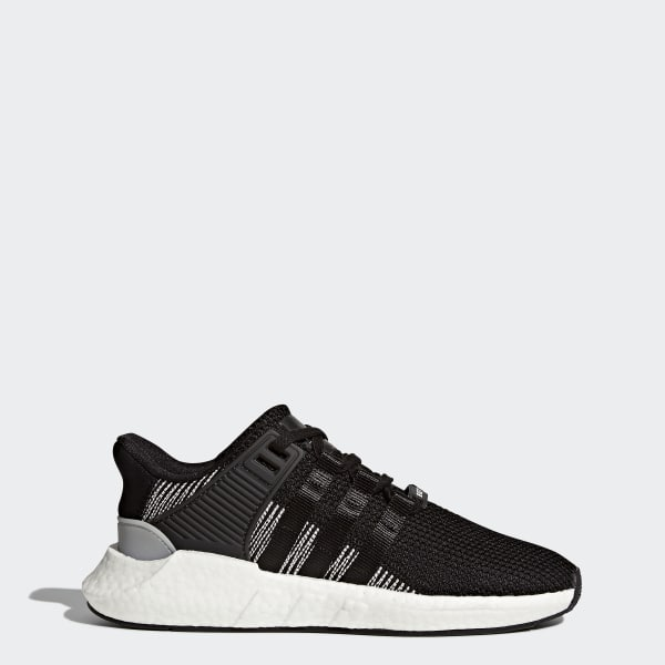 EQT SUPPORT 93/17 - Sneaker low - core black/footwear white Cd28dR