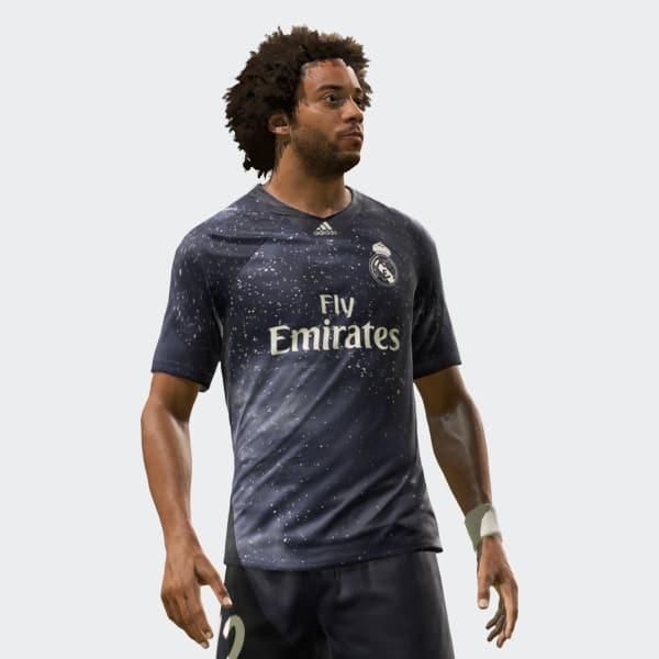 Sports Real Maillot Ea Bleu AdidasFrance Madrid FK5ul1cTJ3