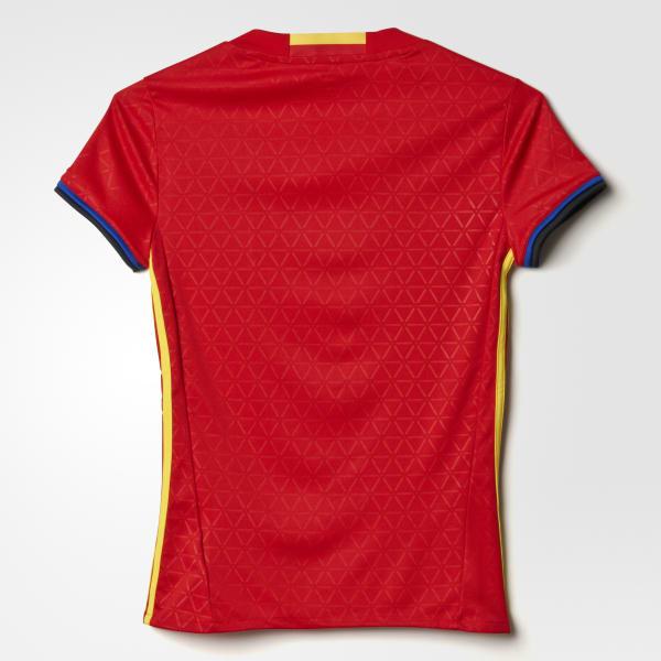 RojoColombia Uefa España Adidas Local Camiseta Euro 2016 ED2H9WI