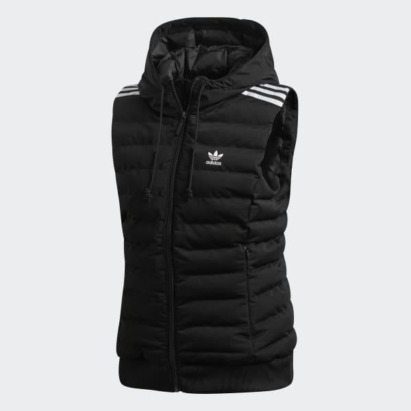 Noir Doudoune Sans Adidas Slim Manches France tqvfH