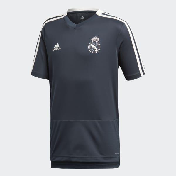 España Adidas Camiseta Entrenamiento Real Madrid Azul HwHpzaTq
