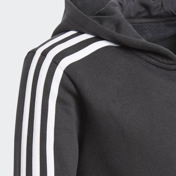 À Canada Essentials Capuche Adidas Veste 3 Stripes Noir UqxpwF18