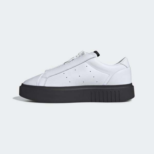 Zapatilla BlancoEspaña Adidas Sleek Super Zip cTFK1Jl