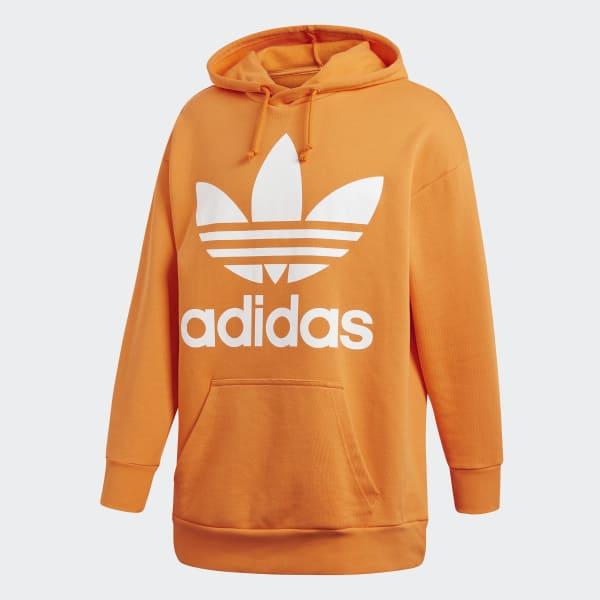 Trefoil AdidasFrance Orange Shirt Oversize Sweat LUzMpqSVG