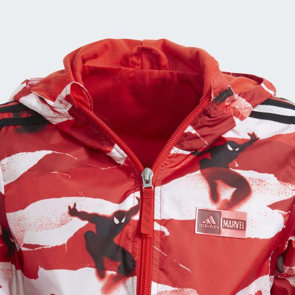 Hombre Rojo Araña Marvel AdidasChile Cortavientos GUzMpqSVL