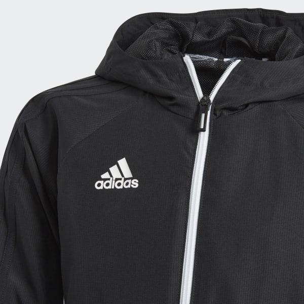Adidas Chaqueta España Presentación Negro 17 Tiro xfrWc0rIq