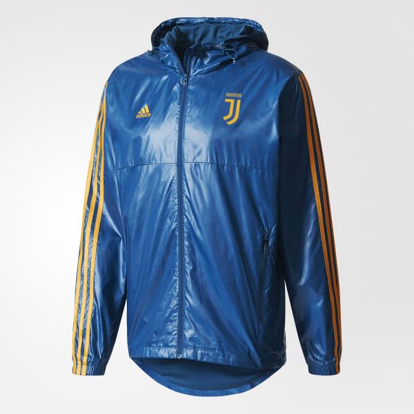 De Juventus Fútbol Tiras AzulArgentina Campera Rompevientos Adidas 3 nO0Pwk