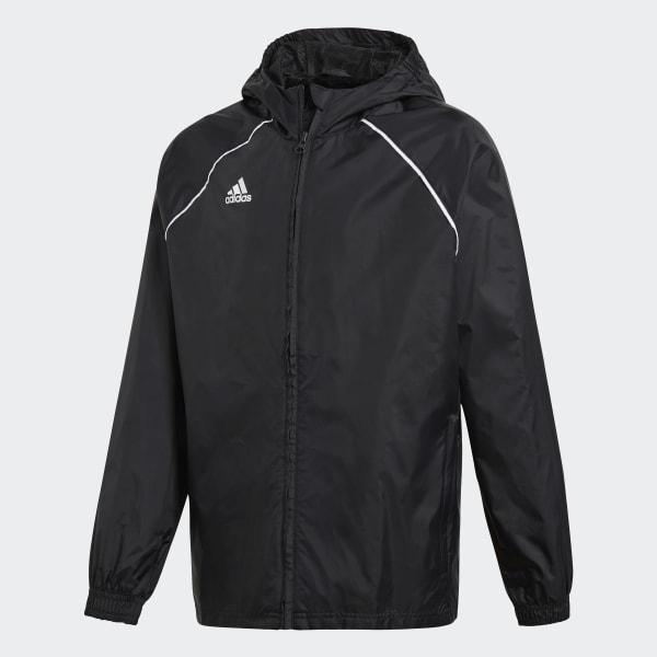 Adidas France Core 18 Noir Imperméable Veste gWPaOHw