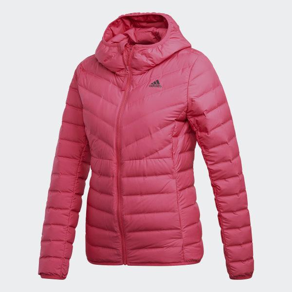 Adidas Soft Streifen WeinrotDeutschland Hooded Daunenjacke 3 Varilite UGqzMVSpL
