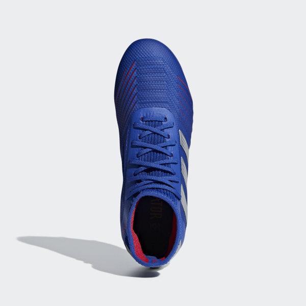 Firm 1 Souple Bleu AdidasFrance 19 Terrain Chaussure Predator BCWrdoxe