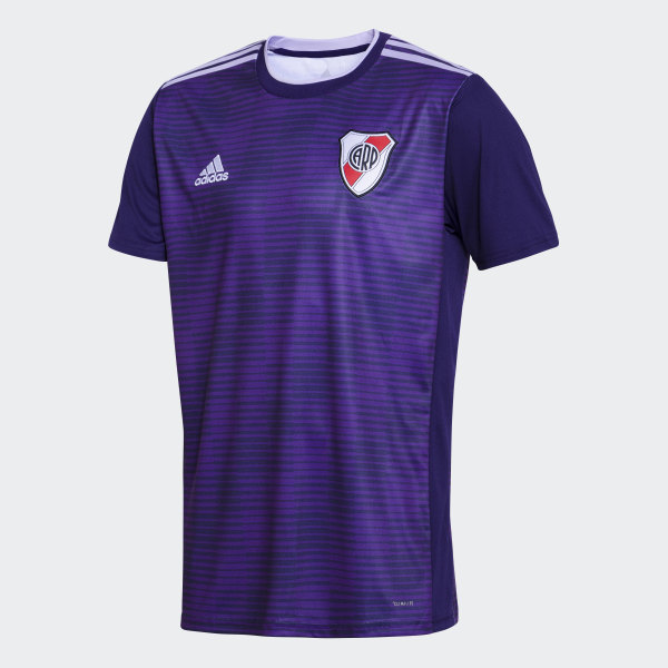 Camiseta Visitante Club Atlético Plate Adidas River VioletaArgentina WD2HE9I