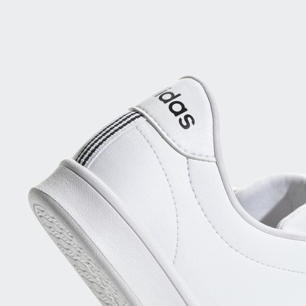 Clean AdidasFrance Blanc Qt Chaussure Advantage H2Y9EIWD