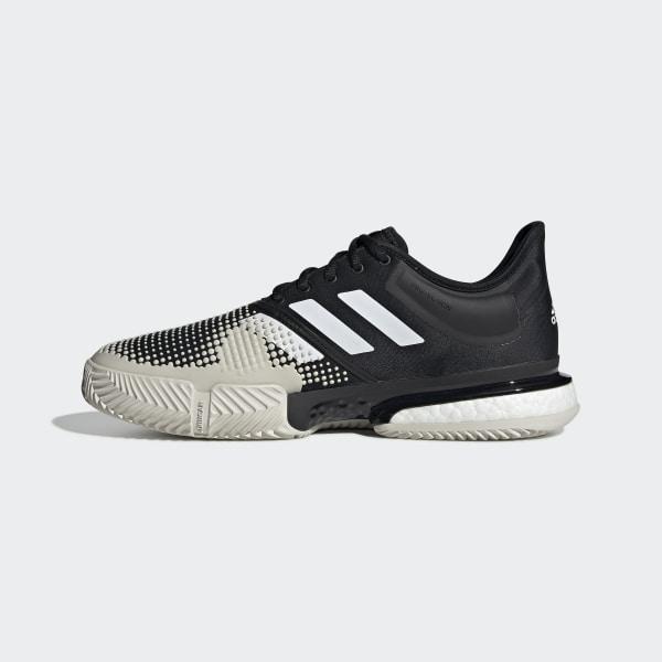 Boost Solecourt Schuh Clay Adidas SchwarzDeutschland 0m8wOyvNn