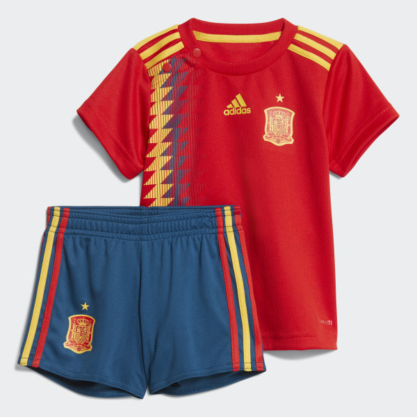 Domicile Espagne Rouge Bébés Kit AdidasFrance nO80wvmPyN