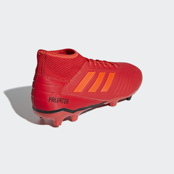 Terrain Chaussure 19 Souple Rouge AdidasFrance Predator 3 hQsrtd