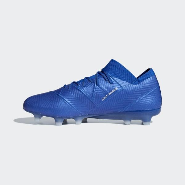 Souple Chaussure Bleu AdidasFrance Nemeziz 1 Terrain 18 y0nmN8Ovw