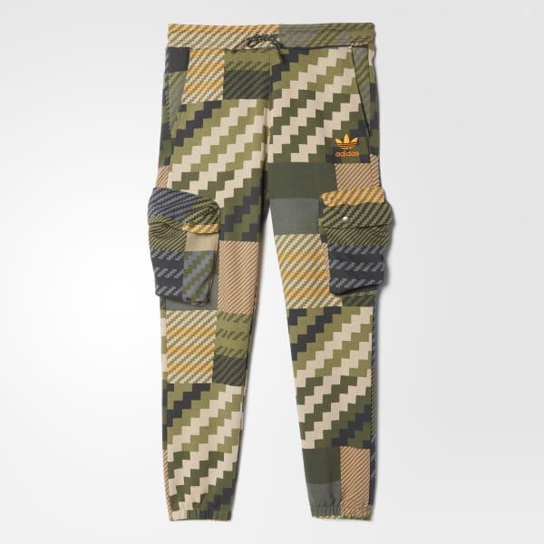 Adidas Mad Cargo GreenCanada Plaid Track Pants Hommes SUpjGMVLqz