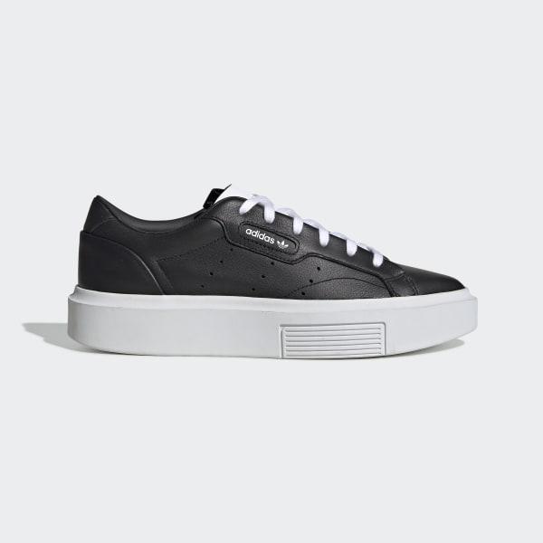 NegroPeru Adidas Zapatillas Super Zapatillas Sleek DIW9EH2Y