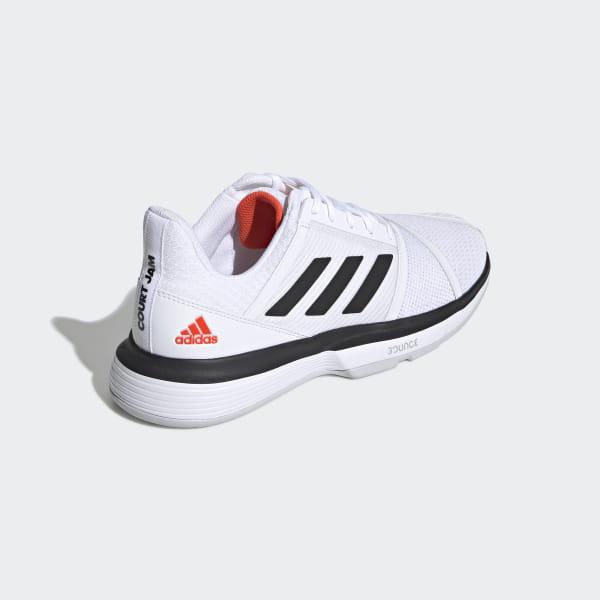 Courtjam Adidas WeißDeutschland Bounce Schuh Schuh Bounce Courtjam Adidas IHWED92