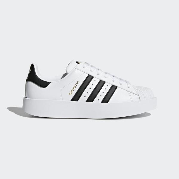 Zapatillas AdidasChile Blanco Superstar Platform Bold iOkXlPTwuZ