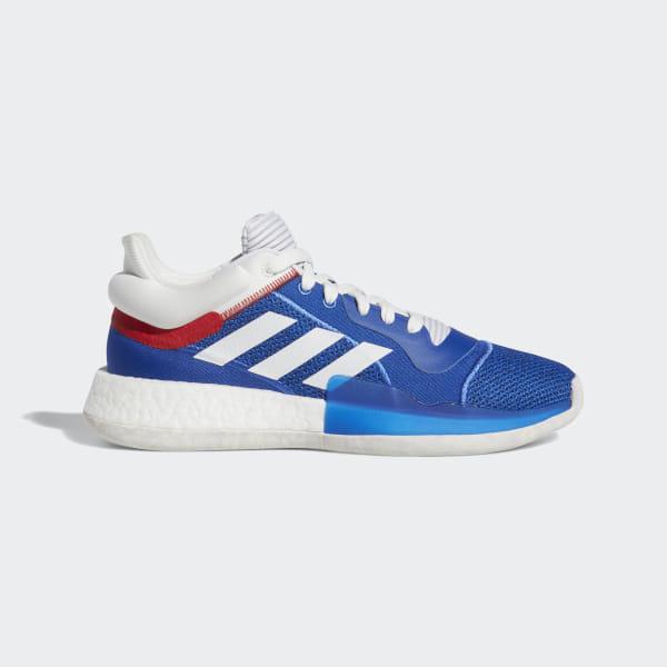 Schuh Adidas Marquee Boost BlauDeutschland Low IYgvb7yf6