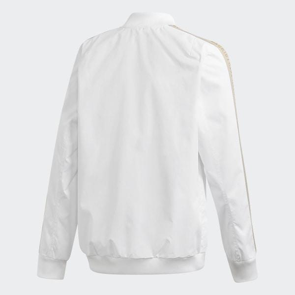 Veste Anthem Blanc AdidasFrance Madrid Real hdrtsQ