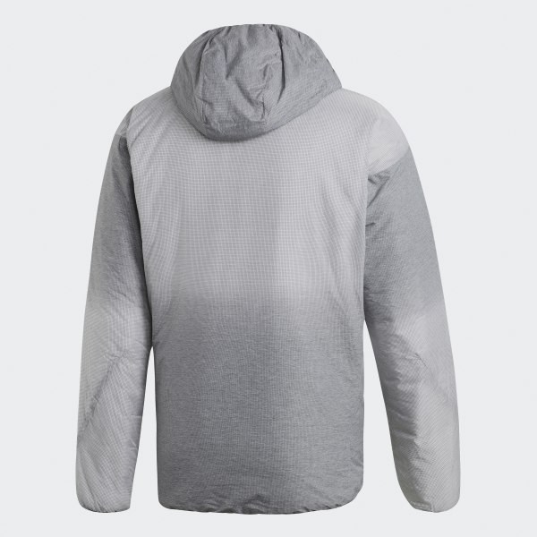 Jacket Windweave Hooded Insulated GreyBelgium Adidas pMVqSUz