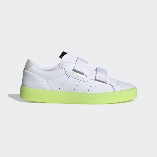 Adidas S Chaussure Sleek BlancFrance BlancFrance Sleek S Chaussure Adidas hdQxtsrC