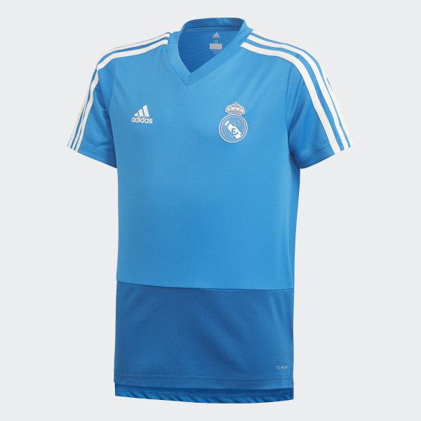 Madrid Camiseta Azul AdidasEspaña Real Entrenamiento 3jqL4AR5