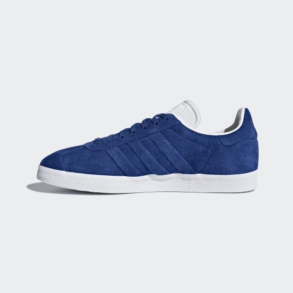 And Gazelle Bleu Stitch Turn Chaussure AdidasFrance nm08Nw